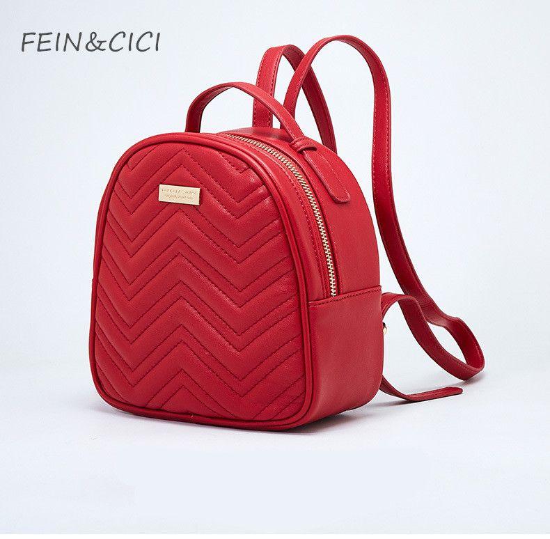 ebe8015f71 Backpack Bag Quilted Backpack Women Luxury Brand High Quality Large Big  Black Red Teenager School Backpack Bag 2018 Summer Back Pack Mochilas  Jansport From ...
