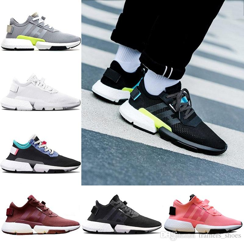 8db2b65465b2 Wholesale P.O.D S3.1 System Sport Running Shoes For Men Women Pod S3.1  Triple Black White Cheap Trainers Sneakers Size 36 45 Sports Shoes For  Women East Bay ...