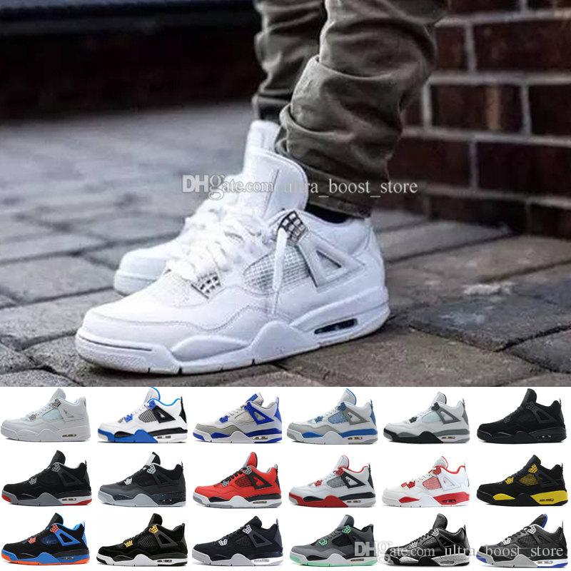 buy online fa588 d1f0c Mens Shoes IV 4 11Lab4 Basket Ball 11 lab 4 Basketball Patent Leather Men  Shoess IV 4S Sneakers SIZE US 8 8.5 9.5 10 11 12 13
