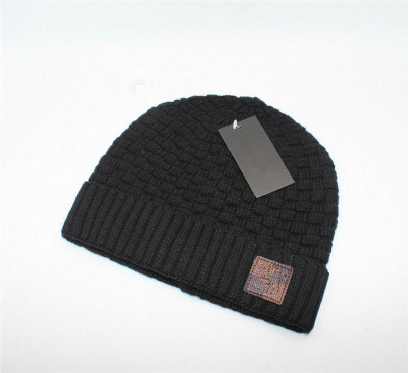 1668ce233f4e9 Fashion Brand Designer Winter Hats Famous Luxury Adults Kids Beanies ...