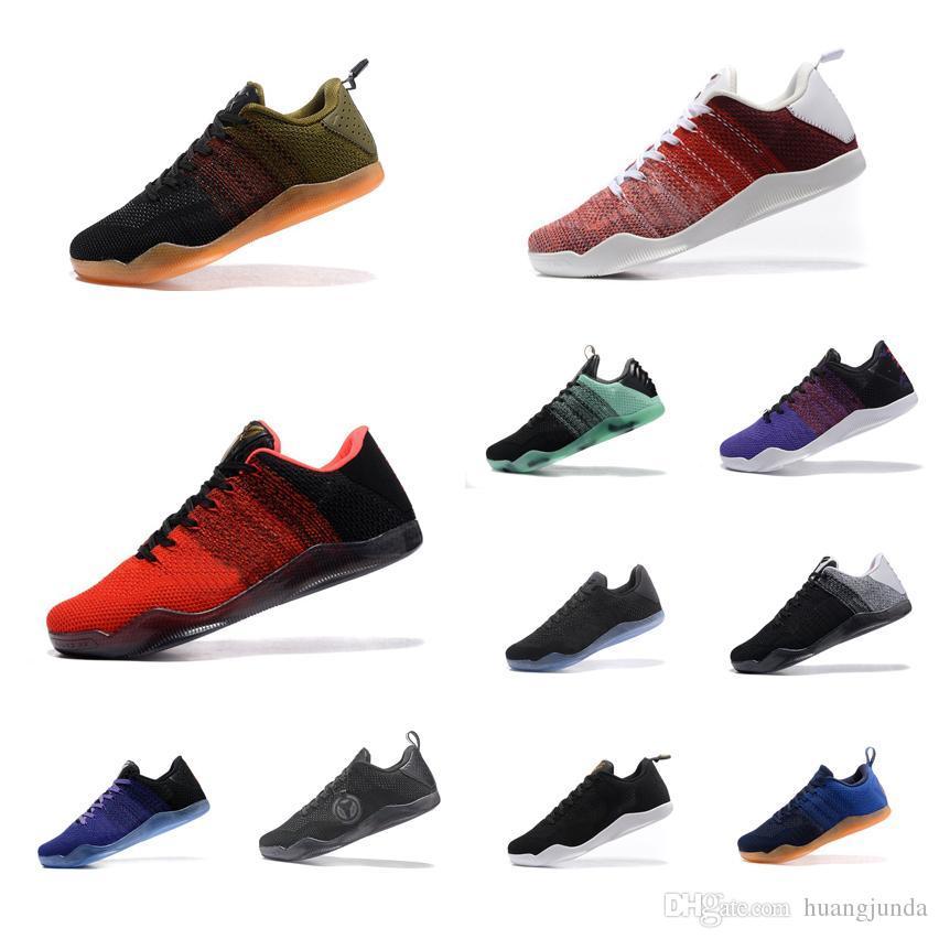 d9eb637f Compre Las Mujeres Baratas Kobe 11 Zapatos De Baloncesto De Élite Bajo GCR  BHM FTB 4KB Gris Negro Oro Rojo Niños Niñas Jóvenes Niños KB XI Zapatillas  En ...