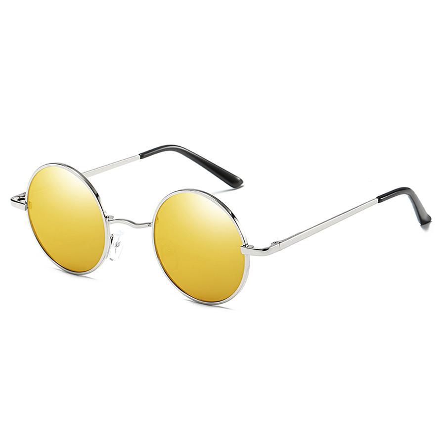71596f90bb Compre Gafas De Sol Redondas Para Hombres Gafas Redondas Para Hombre Gafas  Polarizadas De Hombre Gafas Para Lentes Sol Espejo Gafas De Sol Vintage  Copas A ...