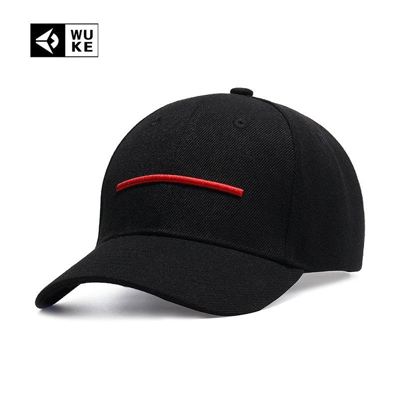 6a28fca7dda1a WUKE Summer Simple Baseball Cap Men Women Dad Hat Snapback Hip Hop Curved  Snap Back Peaked Cap Gorras Mujer Hombre Casquette Trucker Caps Flat Bill  Hats ...