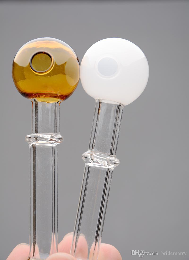 Realer Abbildung Heißer Verkauf bunter Kugelkopf Glas Rauchen Bongs Bubbler Dab Rig mit Schüssel Farbige Günstige Smoking Pipe