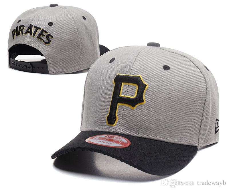 3a6171c3e14 2018 Top Sale Classic Online Shopping Pittsburgh Pirates Street Fitted  Fashion Hat P Letters Snapback Cap Men Women Basketball Hip Pop Baby Cap  Embroidered ...