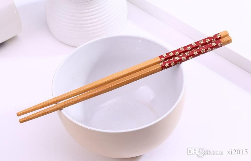 Китайский стиль wen5491 «Восток Встреча Запад» натурального бамбука Палочки Посуда Свадебный партия подарков Сувениры Бесплатная доставка