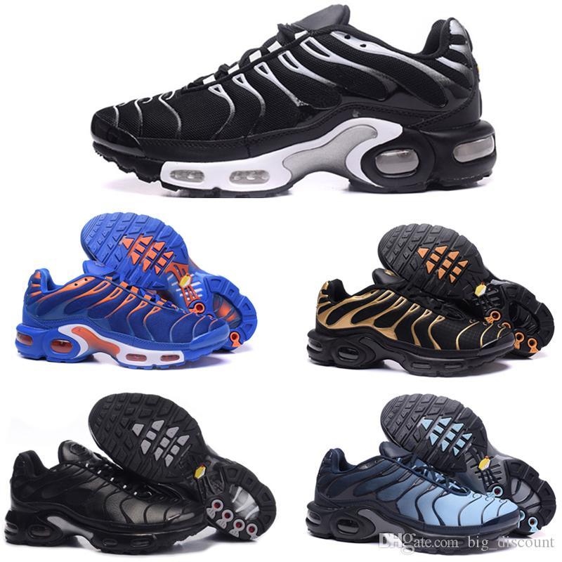 info for 60c91 9665e Acquista Nike 2018 Vapormax TN Plus Top Quality Sconto MENS Sneakers  Classic Tn UOMO Scarpe Da Corsa Nero Rosso Bianco Sports Trainer UOMO  Superficie ...