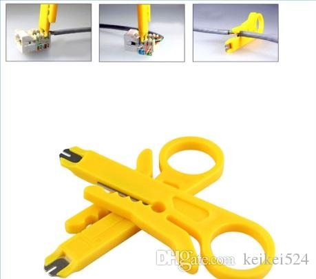 Mini Portable Wire Stripper Knife Crimper Pliers Crimping Tool Cable Stripping Wire Cutter Cut Line Pocket Multitools electrician tools