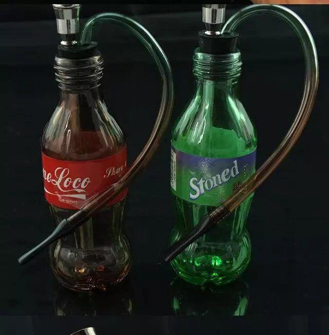 Nueva alta botella de agua de vidrio, Venta al por mayor Bongs Oil Burner Pipes Water Pipes Glass Ripe Oil Rigs Smoking