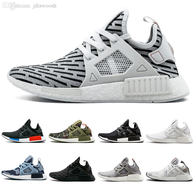 cheap for discount 652e5 6b15b Zebra NMD XR1 Running Shoes Mastermind Japan Fall Olive green Camo Glitch  Black White Blue Pack OG NMDS Runners Sneskers 36-45