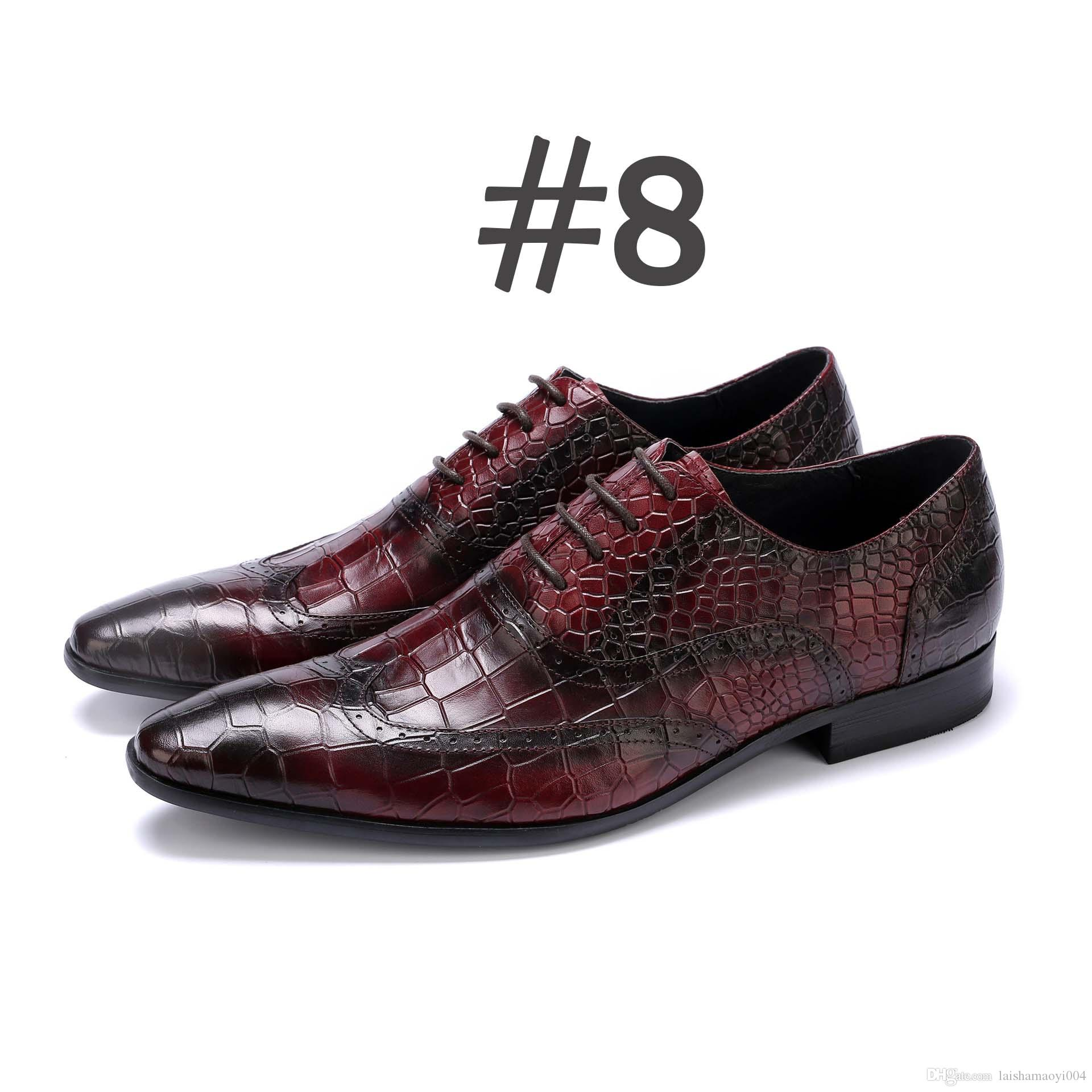 Spring Autumn Men Formal Wedding Shoes Luxury Men Business Dress Shoes Men  Loafers Pointy Shoes Big Size 38-44 Men Dress Shoes Luxury Shoes Luxury  Dress ... 5cde23123988