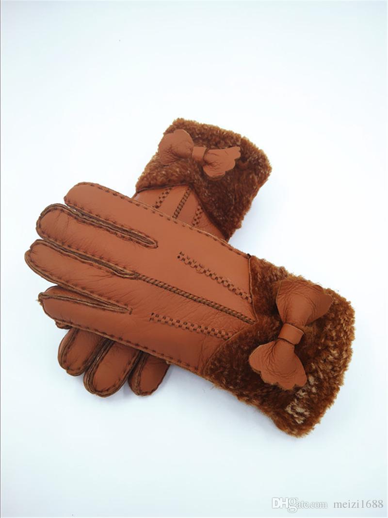 Quality Handmade Fashion Women Winter Gloves Warmer Gloves Winter