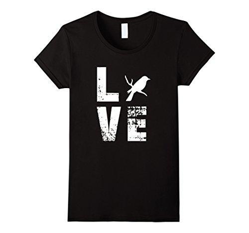 d9d1fb0d5 Women's Tee Love Bird - Animal T-shirt Female Natural Cotton Cotton Casual  Tops Tee Lady Short Sleeve Tees Round Neck T Shirt Animal