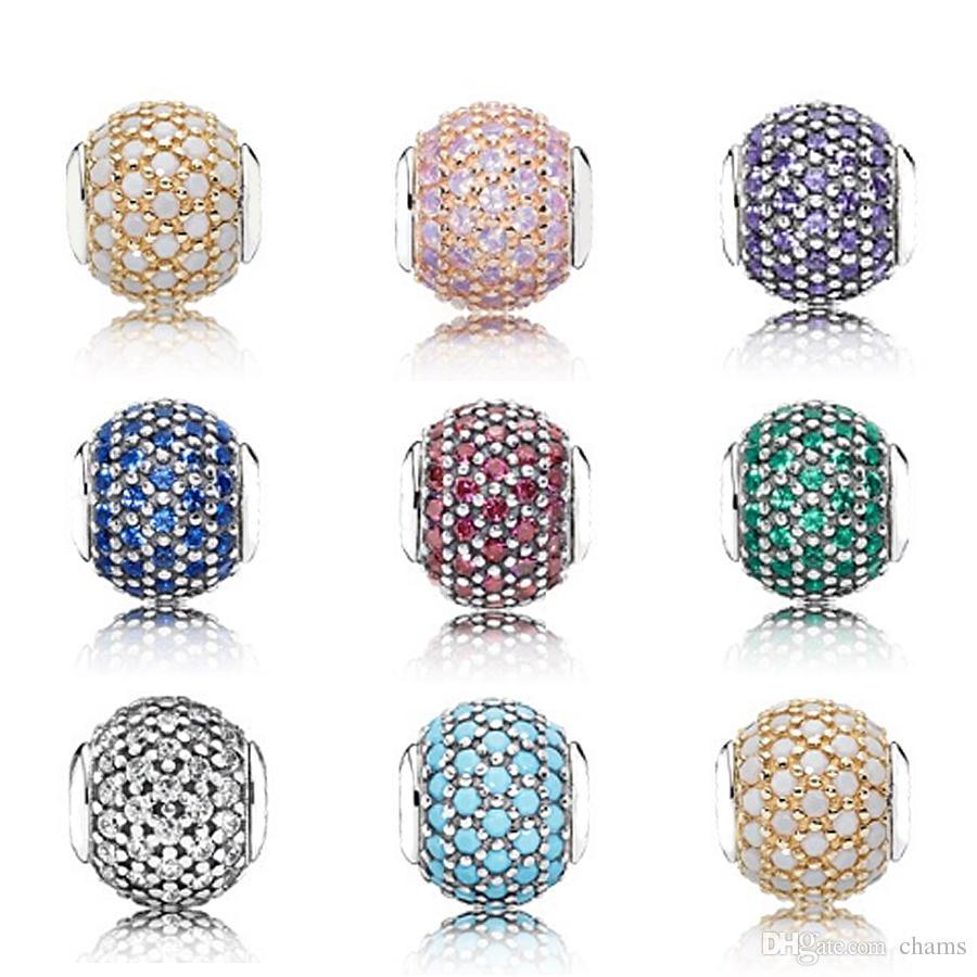 f28ccb794a41e CHAMSS Pandora in Essence Charm Beads DIY Woman for Jewelry Wisdom Passion  Faith Generosity Caring Factory direct Pandora original 1:1