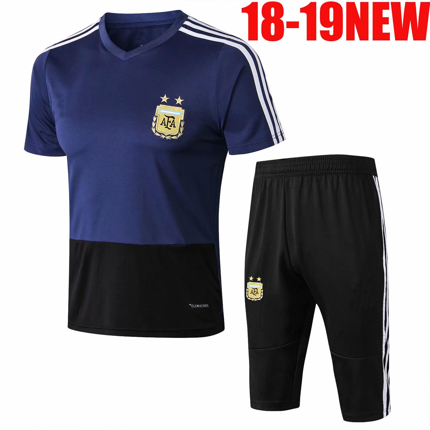 81a183d0fd2 2019 NEW 2018 2019 World Cup Soccer Spain Polo Shirt 18 19 Colombia Belgium  Argentina Custom Adult Football Training Suit From Jerseys aaa