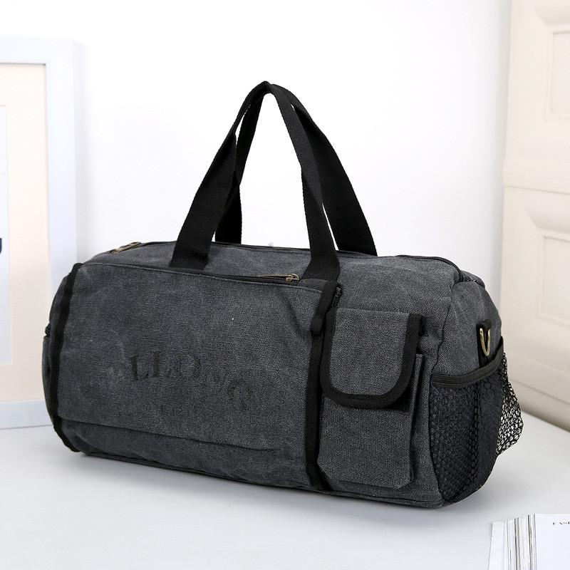 7262e25bc9 Travel Duffle Bag Big Tote Male Crossbody Bag Casual Luggage Large Capacity  Canvas Travel Bags Casual Men Hand Luggage Bags Shop Designer Suitcase From  ...