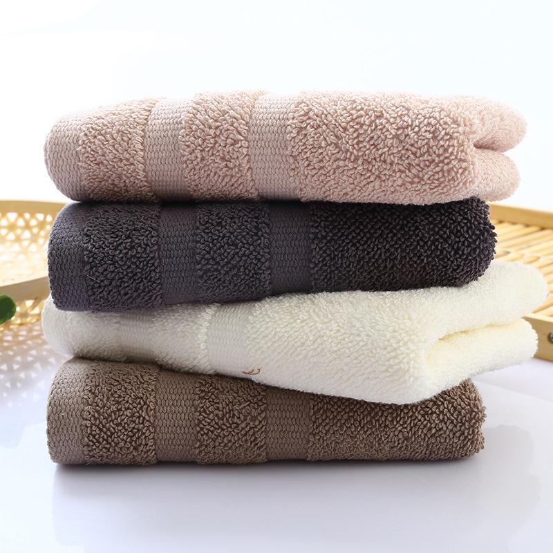 3475cm Home Hotel Hair Hand Face Towel On Sale Multi Color High