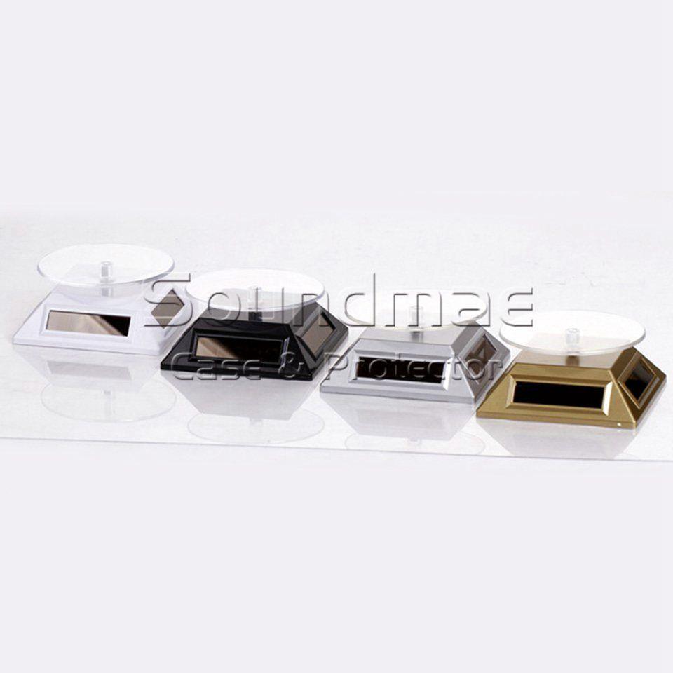 Batería solar universal de uso dual Soporte de exhibición con ABS para iPhone X 8 7 Samsung S9 S8 Reloj de la cámara del molde de la joyería Retailpackage