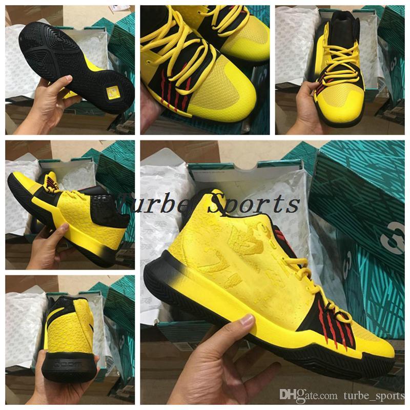 dde30cf90629 Großhandel 2018 Top Qualität Kobe MM Bruce Lee Joint Herren Basketball  Schuhe Gelb Mamba MentalitätClassic Kyrobe Gelb   Schwarz Outdoor Sports  Sneakers Von ...