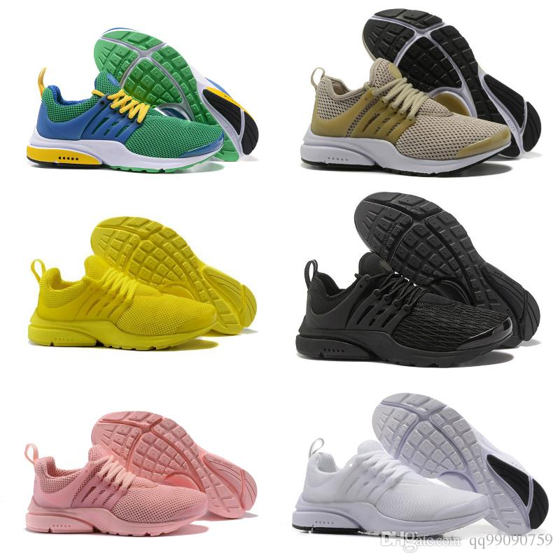 e531892e0f7525 2018 New Presto Ultra BR TP QS Black White Yellow Red Grey Running Sports Shoes  Cheap Women Men AI Prestos Off Basketball Sneakers Sports Shoes Online ...