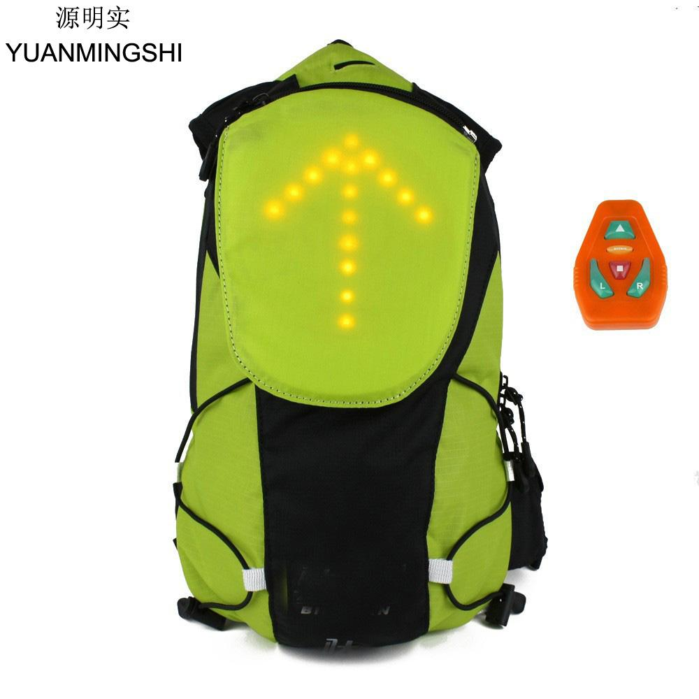 YUANMINGSHI Cycling Motorcycle Reflective Safety LED Backpack Bag With  Wireless Remote Control LED Pilot Safety Light Motorcycle Side Cases  Manufacturers ... 3a3eb4d49c0c5