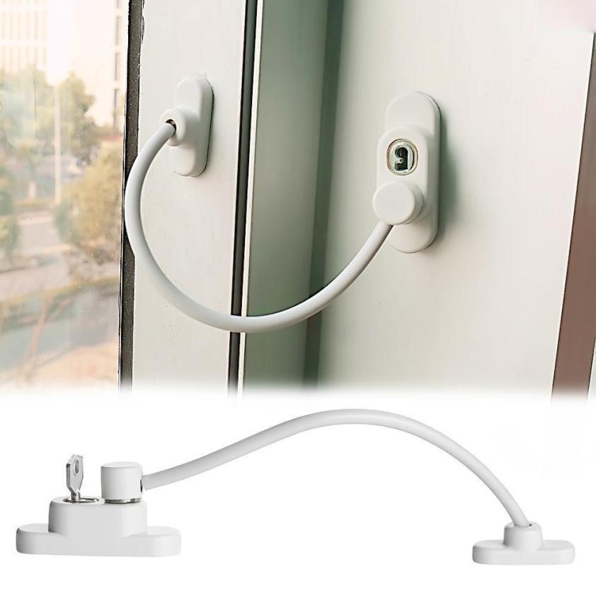 2018 New Develop Window Door Restrictor Child Baby Safety Security Cable Lock Catch Wire Security Restrictor From Goodwork $24.61   Dhgate.Com  sc 1 st  DHgate.com & 2018 New Develop Window Door Restrictor Child Baby Safety Security ...