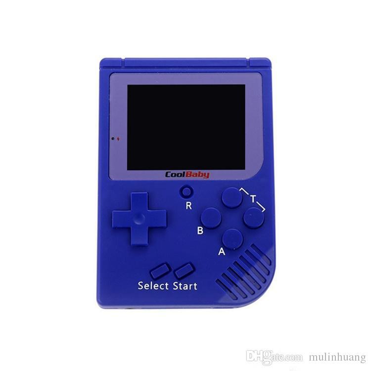 CoolBaby Mini El Oyun Konsolları RS-6 Taşınabilir Retro Mini Oyun Konsolu Renkli LCD 2.5 Inç Ekran Oyuncu RS 6 RS6 FC Oyunu MQ50 Için
