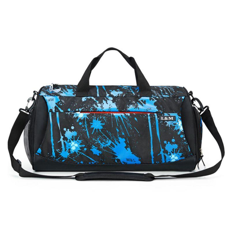 9ecca4b0b9 2019 Gym Running Bag Workout Exercise Shoulder Bag Shoes Compartment  Waterproof Travel Yoga Men Women Sports Pack W20 From Sportsun