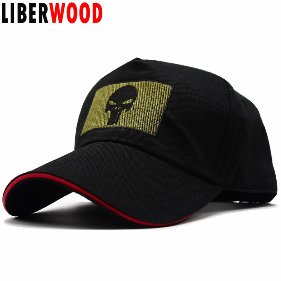 Acquista LIBERWOOD Punisher Skull Tactical Morale Berretto Da Baseball  Cappello Punisher Ricamato Bundle Con Berretto Quadrato Cappello Cap Uomini  Nero 55 ... 16fcc7a12de6