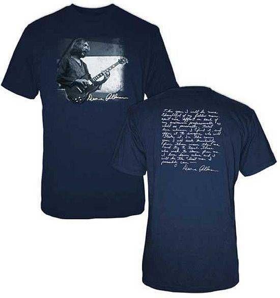 24edb2f19cb Duane Allman Quote T Shirt SM