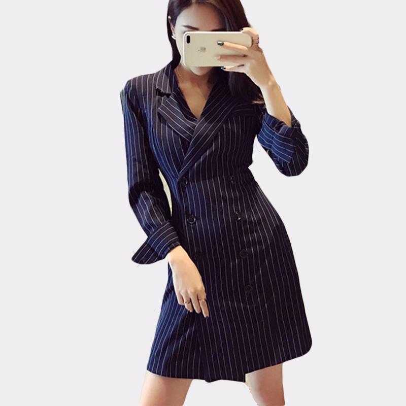 Blazer Casual Perle Tasten Schwarz Frauen Blazer Kerb Kragen Elegante Herbst Jacke Büro Damen Anzüge Outwear 2018 Hohe Qualität