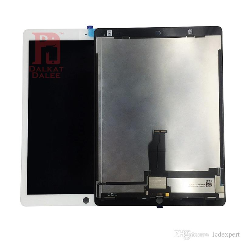 For iPad Pro 12.9 Inch LCD Display Screen With Motherboard Flex Cable Touch Panel Digitizer Assembly Replacement Screen and 3M Adhesive Glue