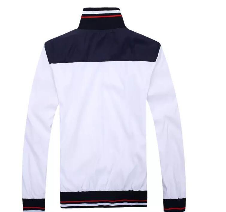 Autumn men's full zip polo tracksuit men sport suit white cheap men sweatshirt and pant suit hoodie and pant set sweatsuit men