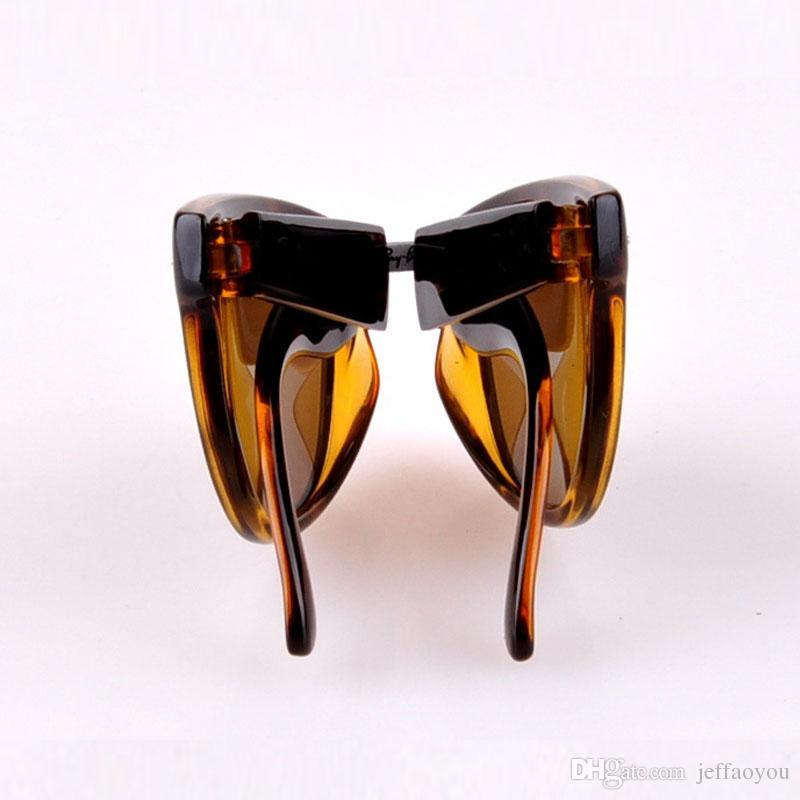 60965ba9c0 Hot Sale AK4105 Fold Classical Sunglasses 601 601s Shiny Matte Black ...