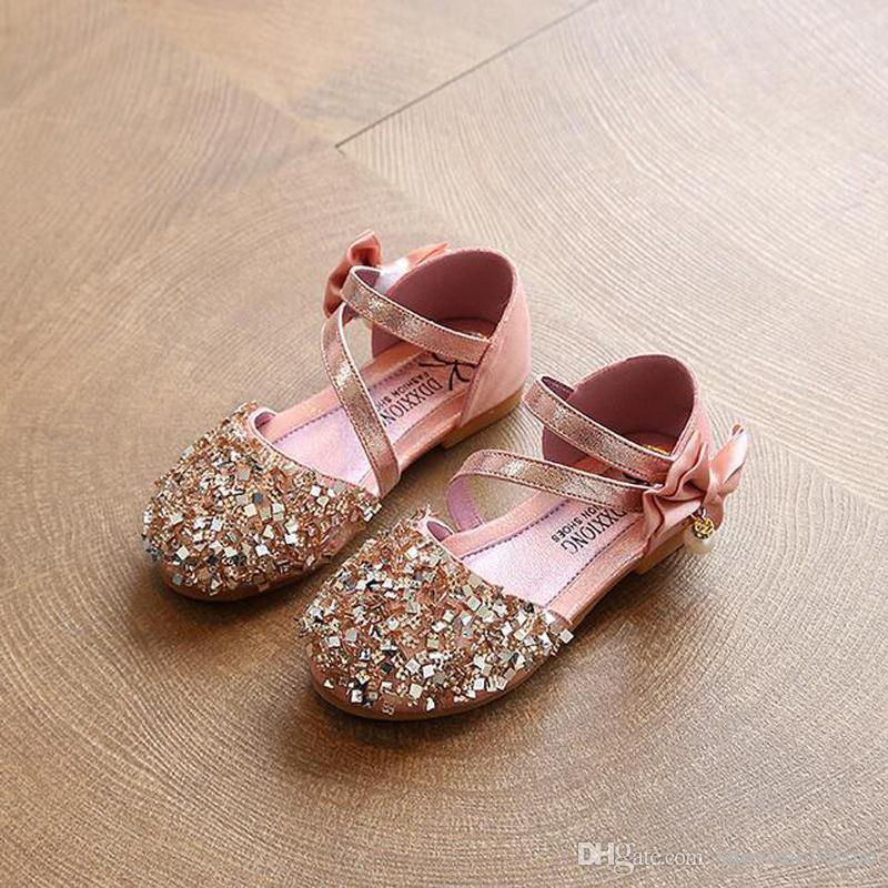 13.5cm-22.1cm 2018 Girls Sequins Rome Shoes Rivets Kids Shoes Cutout Sandals For Girl Zip Gladiator Sandals Fashion Shoes