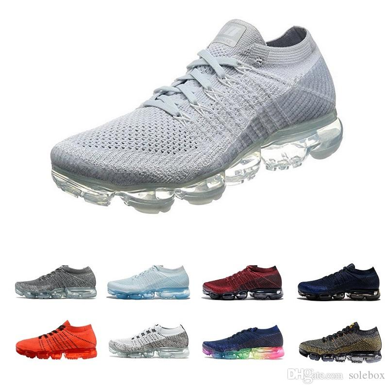 cheap sale best wholesale New Rainbow VaporMax 2018 BE TRUE High Quality Casual Vapor Maxes Shock Running Shoes Gym Shoes Men Women Sneakers Szie 36-45 buy cheap best sale iTrQH0