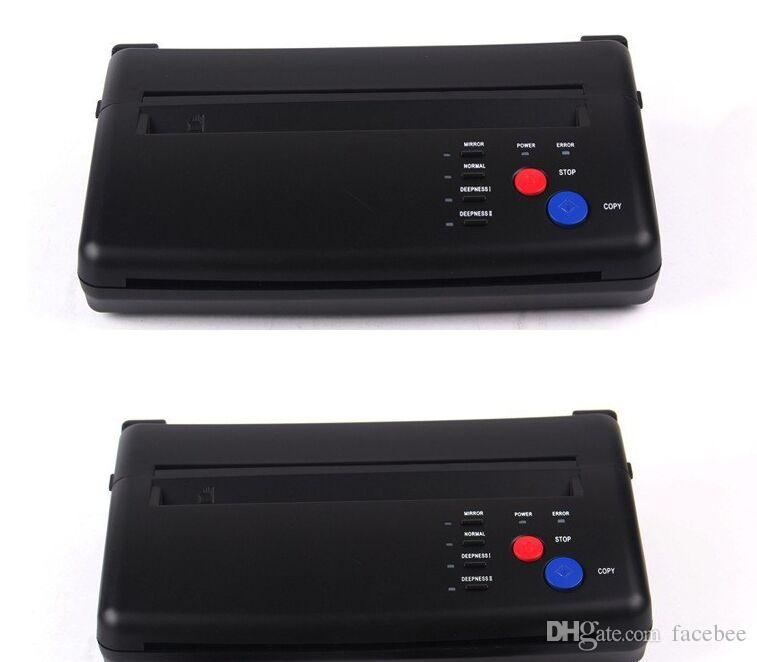 lowest price A4 Transfer Paper black Tattoo copier thermal stencil copy Transfer Machine