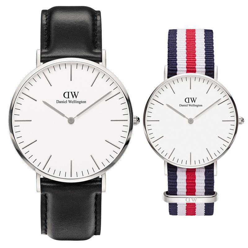 bdad0f34602 Watch Daniel Luxury Designer Mens Women Lovers  Watches 36 40mm Military  Quality Men Ladies Military Wristwatches Orologi Da Uomo Watch Watches From  ...