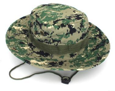 0f39930a23d Digital Camo Caps And Hats Tactical Mandrake Boonie Hat Pattern US ...