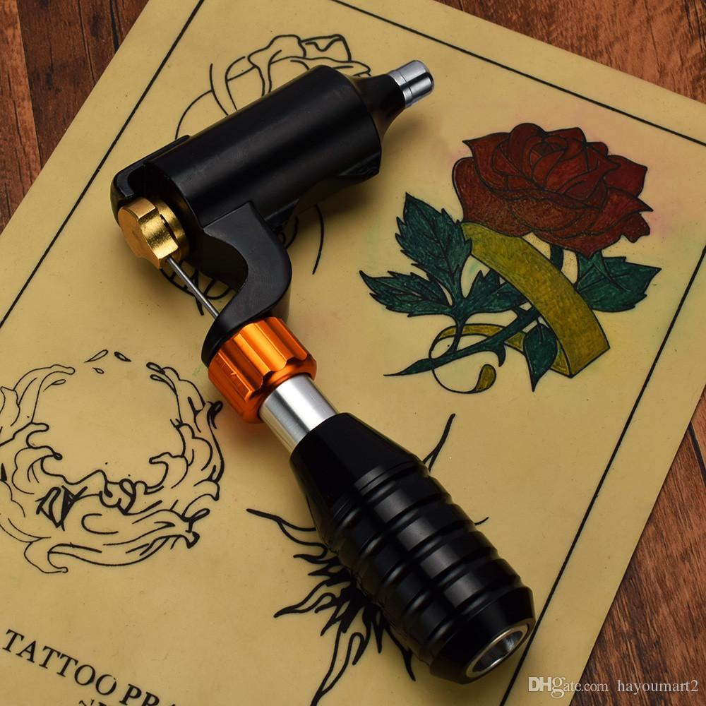 Tattoo Gun L Shape Tattoo Motor Híbrido máquina de tatuaje rotativa para revestimiento permanente de maquillaje y Shader