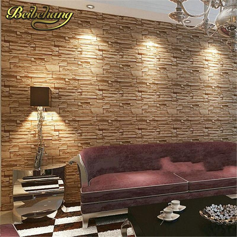 Beibehang Modern Style 3d Wallpaper Stone Brick Design Background Wall Pvc  Wallpaper Waterproof Papel De Parede Tapete Download Free Wallpapers  Download ...