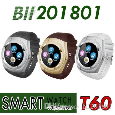 Wearable Devices T60 Smart Watch Waterproof Call Sms Reminder Smartwatch Fitness Tracker Smart Bracelet Pedometer Wristwatch For Ios Android