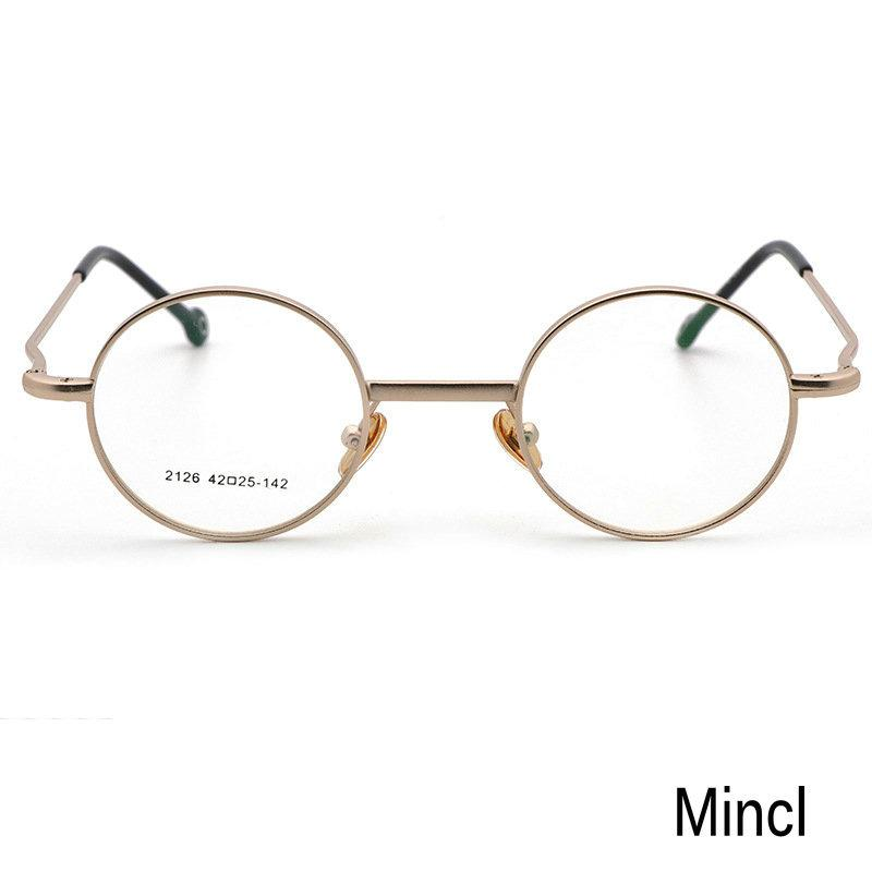 7c162aab895 MINCL  Luxury New Round Women Sunglasses Frames Classic Men Optics  Eyeglasses 2018 Women Men Optical Clear Glasses Frame NX Eyewear Frames  Cheap Eyewear ...