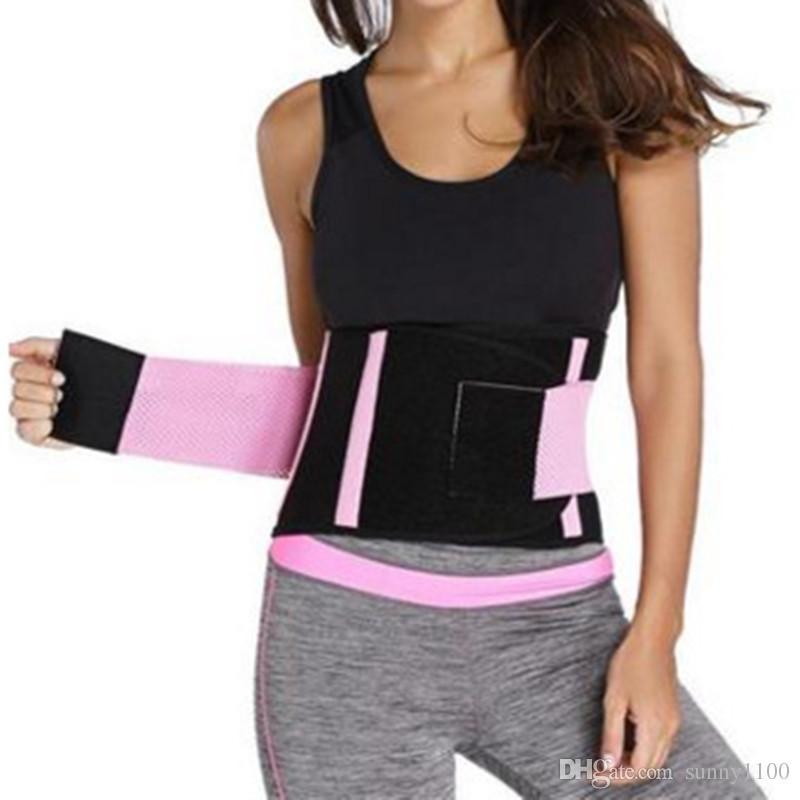 4659afa986 2019 Waist Trimmer Belt Premium Trim Curves Trainer Adjustable Stomach Body  Wrap   Back Lumbar Support Weight Loss From Sunny1100