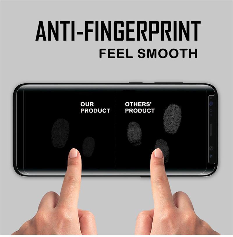 Paketi Vaka Dostu temperli cam için Samsung Galaxy Note 20 S20 Ultra Note10 S10 Artı 3D Kavisli Vaka Versiyon Telefon Ekran Koruyucu