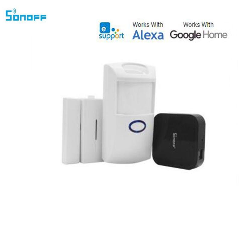 Magnificent Sonoff Smart Home Door Window Motion Alarm Sensor And Rf Bridge 433 Work With Amazon Alexa Google Home For Smart House Security Home Interior And Landscaping Synyenasavecom