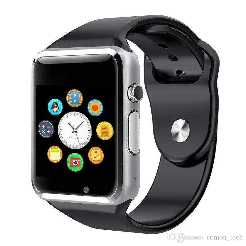 A1 Smartwatch Bluetooth montre intelligente pour IOS iPhone Samsung Téléphone Android Horloge intelligente Smartphone Montre de sport a1