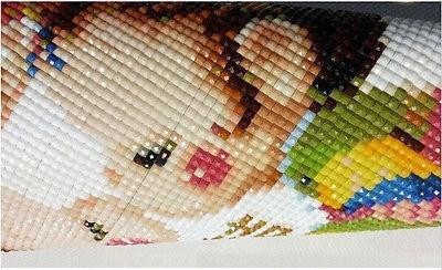 100% Área DIY 5D diamante bordado Pintura Ponto Cruz Desenho de Diamante Decoração de Casa Casal Velho