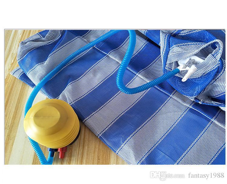 Hamaca de agua flotante inflable de la piscina del verano Silla de la cama del salón Cama flotante inflable del flotador de la piscina del verano es