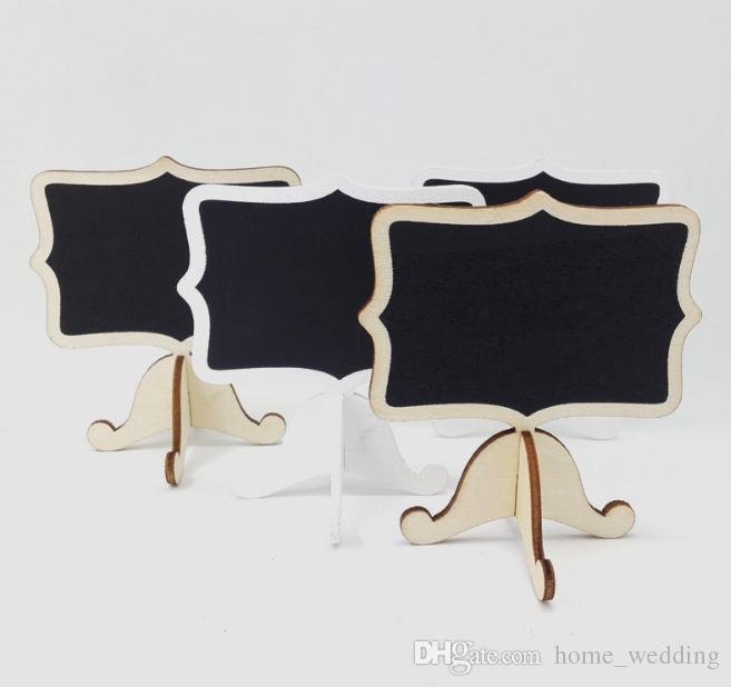 2018 Wholesale Mini Chalkboard Stand Rustic Wedding Table Number ...